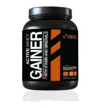 Active Whey Gainer - Self OmniNutrition Jahoda 2000g