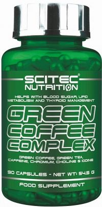 Green Coffe Complex - Scitec Nutrition bez príchute 90 tbl.