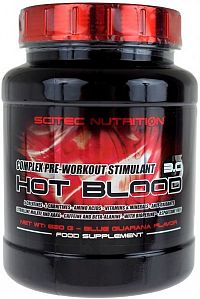 Hot Blood 3.0 - Scitec Nutrition Guarana 820g
