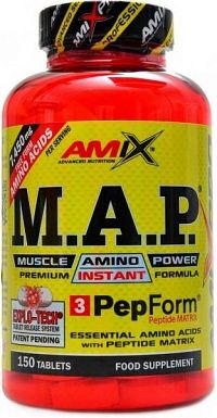 M.A.P Muscle Amino Power - Amix 375 tbl