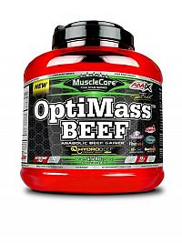 MuscleCore® OptiMass™ Beef Gainer - Amix Dvojitá čokoláda 2500g