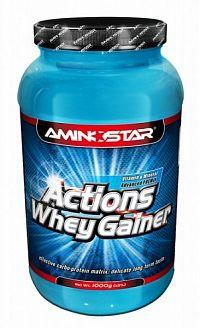 Whey Gainer Actions - Aminostar Jahoda 1000g