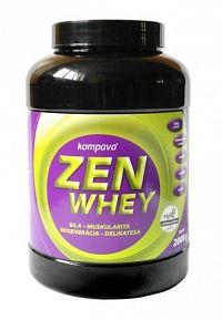 Zen Whey + Stévia - Kompava Vanilkový krém 2000g