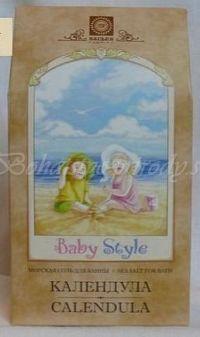 Morská soľ BABY STYLE - harmanček, 450g