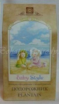 Morská soľ BABY STYLE - skorocel, 450g