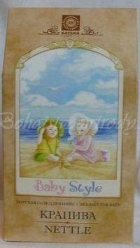 Morská soľ BABY STYLE - žihľava, 450g