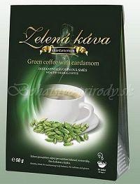 Zelená káva s kardamonom
