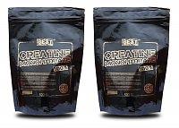 1+1 Zadarmo: Creatine Monohydrate od Best Nutrition 0,5 kg + 0,5 kg