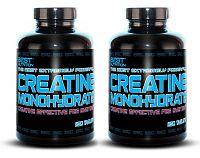 1+1 Zadarmo: Creatine Monohydrate Peg System od Best Nutrition 250 tbl. + 250 tbl.