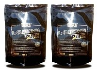1+1 Zadarmo: L-Glutamin pure od Best Nutrition 500 g + 500 g