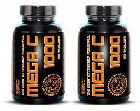1+1 Zadarmo: Mega C 1000 od Best Nutrition 90 tbl. + 90 tbl.