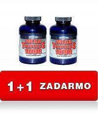 1+1 Zadarmo: Mega Tribulus 1000 - Mega-Pro Nutrition 200 kaps. + 200 kaps.