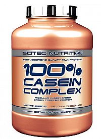 100% Casein Complex - Scitec Nutrition 920 g Belgian Chocolate