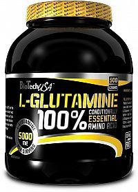 100% L-Glutamine - Biotech USA 240 g