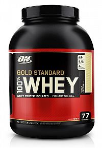100% Whey Gold Standard Protein - Optimum Nutrition 2270 g Vanilla ice cream
