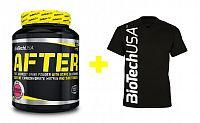 Akcia: After + Pánske tričko - Biotech USA 630 g + tričko XL Cherry
