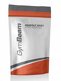 Anabolic Whey - GymBeam 2500 g Strawberry