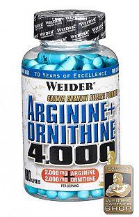 Argine+Ornithine 4000 - Weider 180 kaps.