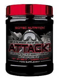 Attack 2.0 - Scitec Nutrition 25 x 10 g Hruška