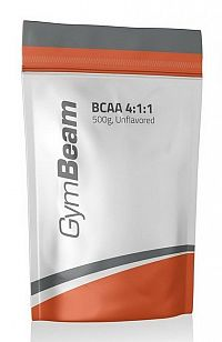 BCAA 4:1:1 - GymBeam 500 g Orange