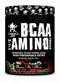 BCAA Amino Powder - Warrior Labs 400 g Raspberry