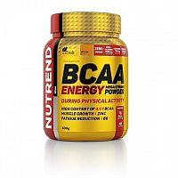 BCAA Energy Mega Strong Powder - Nutrend 20 x 12,5 g Raspberry