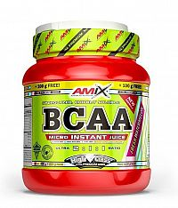 BCAA Micro Instant Juice 2:1:1 - Amix 400 g + 100 g Juicy Orange