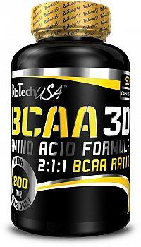BCAA Nano 3D - Biotech USA 90 kaps.
