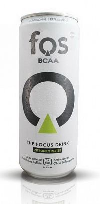 BCAA - The Focus Drink - Fos 330 ml. Lemon+Lime