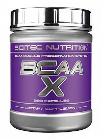 BCAA-X - Scitec Nutrition 330 kaps