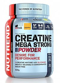 Creatine Mega Strong Powder od Nutrend 500 g Broskyňa