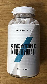 Creatine Monohydrate - MyProtein 250 tbl.