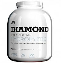 Diamond Hydrolysed Whey Protein od Fitness Authority 2270 g Lemon Cheesecake