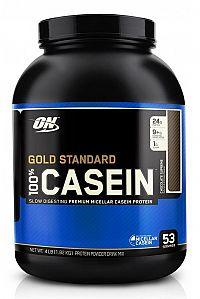 Gold Standard 100% Casein - Optimum Nutrition 1800 g Vanilka