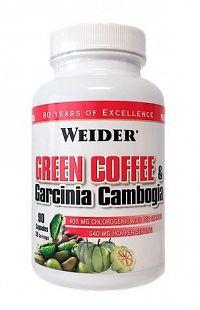 Green Coffee & Garcinia Cambogia - Weider  90 kaps.