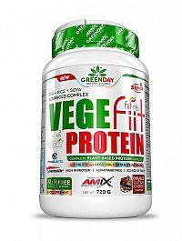 GreenDay Vegefiit Protein - Amix 720 g Peanut choco caramel
