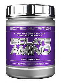 Isolate Amino - Scitec Nutrition 250 kaps