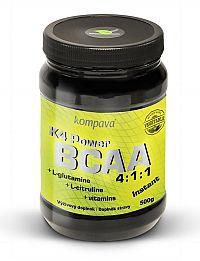 K4 Power BCAA 4:1:1 od firmy Kompava 500 g Kiwi