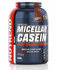 Micellar Casein od Nutrend 2250 g Čokoláda+Kakao