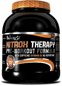 NitroX Therapy - Biotech USA 340 g Modré hrozno