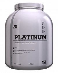 Platinum Micellar Casein - Fitness Authority 1,6 kg Vanilka
