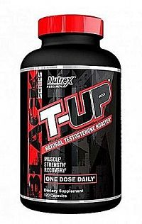 T-UP Natural Testosterone Booster - Nutrex 120 kaps.
