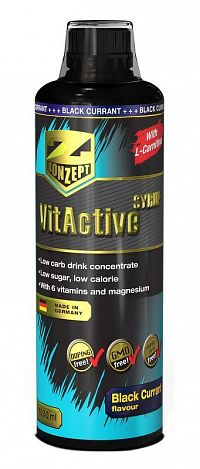VitActive + L-Carnitine od Z-Konzept  1000 ml. Black Currant
