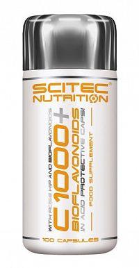 Vitamín C 1000 + Bioflavonoid - Scitec Nutrition 100 kaps.