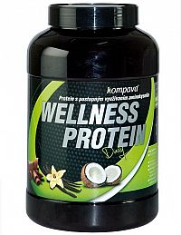 Wellness Protein - Kompava 525 g Jahoda+Malina