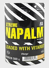 Xtreme Napalm loaded with Vitargo - Fitness Authority 500 g Pineapple+Kiwi