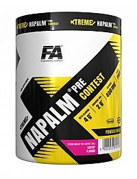 Xtreme Napalm Pre-Contest od Fitness Authority 500 g Lemon Lime