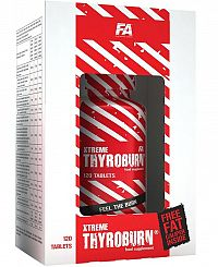 Xtreme Thyroburn - Fitness Authority 120 kaps