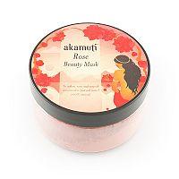 Ružová pleťová maska 100 g Akamuti