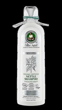 Babička Agafa - WHITE Žihľavový šampón pre všetky typy vlasov- Jemnosť a lesk- 280ml